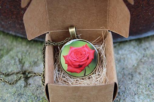 18e6fafda Náhrdelník ruža / .Terka. - SAShE.sk - Handmade Náhrdelníky
