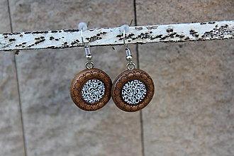 Náušnice - Naušky živicové ornamenty - 10729073_