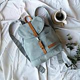 Batohy - Batoh Thea (sivo-zelený) - 10727295_