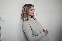 Kabáty - Šedý kabát - 10730329_
