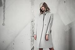 Kabáty - Šedý kabát - 10730330_