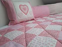 Úžitkový textil - Prehoz Ružový - 10727269_