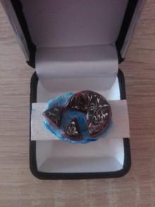 Odznaky/Brošne - Brošnička:Čokoládová tortička. - 10730487_