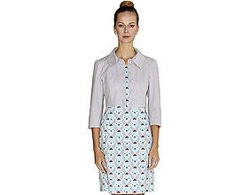 Kabáty - Norma - krátke sako, bavlna OekoTex - 10728518_