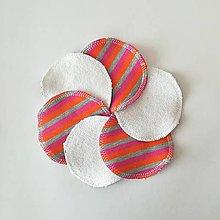 Úžitkový textil - Čistiace tampóny (pásikavá) - 10727697_