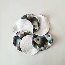 Úžitkový textil - Čistiace tampóny (geometrická) - 10727719_