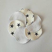 Úžitkový textil - Čistiace tampóny (hviezda) - 10727727_