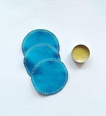 Úžitkový textil - Čistiace tampóny mix (tmavo modrá) - 10727793_