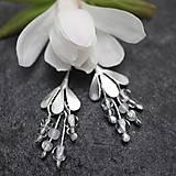 - Magnolia biela - náušnice - 10729153_