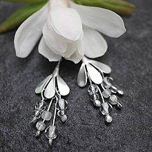 Náušnice - Magnolia biela - náušnice - 10729153_