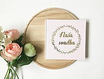- Svadobná kniha hostí Bubble Wreath - 10728816_