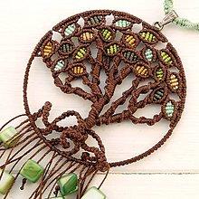 Náhrdelníky - Macramé náhrdelník - 10728665_