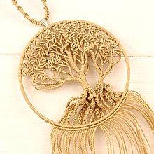 Náhrdelníky - Macramé náhrdelník - 10730175_