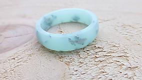 Prstene - Živicový prsteň - 10730014_