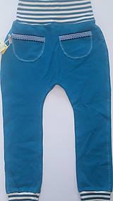 Detské oblečenie - VÝPREDAJ Tepláky organická bavlna - 10728420_