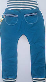 Detské oblečenie - Tepláky organická bavlna - 10728420_