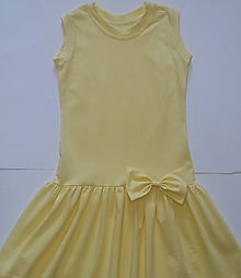 Detské oblečenie - Letné šiatky biobavlna - 10727436_