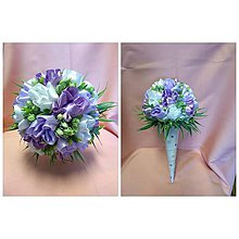 Drobnosti - Saténové kytičky z tulipánov - 10729166_