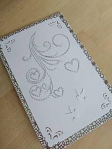 Papiernictvo - Magic card (Strieborná) - 10727334_