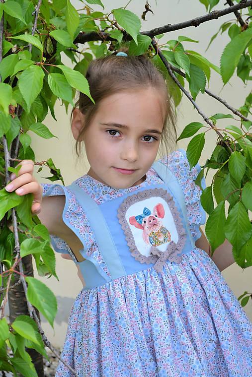Detské oblečenie - šaty Viktória - 10733670_