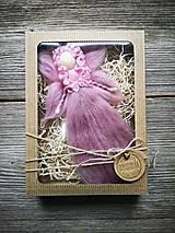 Dekorácie - Vilka v darčekovom balení - 10732492_
