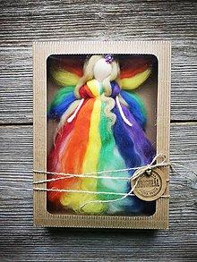 Dekorácie - Vilka v darčekovom balení - 10732495_