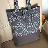 Nákupné tašky - taška šedá - 10732865_