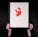 Obrazy - výkrik dneška // maľba akrylom // A2 - 10731638_