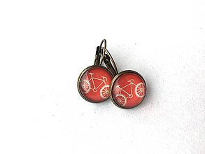 Náušnice - Bicyklíky - 10733402_
