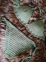 Bielizeň/Plavky - Plavky zelené - 10732813_