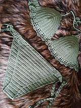 Bielizeň/Plavky - Plavky zelené - 10732816_