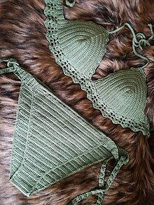 Bielizeň/Plavky - Plavky zelené - 10732773_