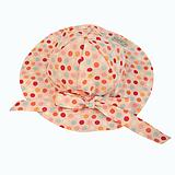 Čiapky - Detský klobúk dotties pink - 10733837_