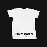 Detské oblečenie - Tričko Own rules biele - 10733980_