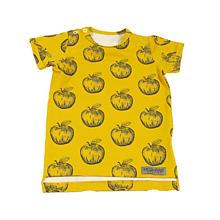 47f950d143 Detské oblečenie - Tričko - Apples mustard krátky rukáv - 10733956
