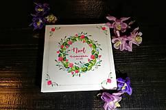 Papiernictvo - Leporelo 13x13 ,,Valentínske kvetinky,, a ostatné kvetinkové leporelká - 10732476_
