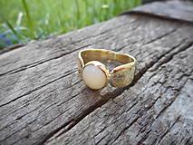 Prstene - Originálny opálikový - 10730992_