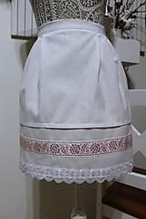Iné oblečenie - Svadobná zásterka... - 10732570_