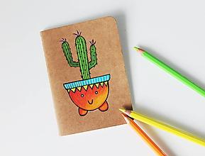 Papiernictvo - Pán Suku Mexiko (zápisník) - 10731279_