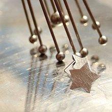 Náušnice - Hviezdy na uši - 10732081_