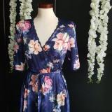Šaty - Zavinovacie šaty z hodvábneho saténiku - 10730811_