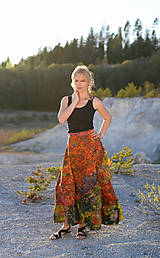 Sukne - Sukňa Multicolor 2 - 10733470_