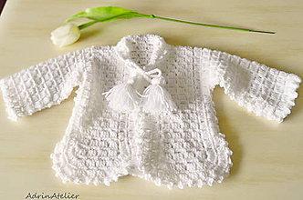 Detské oblečenie - svetrík pre bábätko - 10732193_