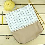 Iné tašky - Tvoritaška ~ projektová taška na vaše tvorenie - 10733077_