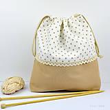 Iné tašky - Tvoritaška ~ projektová taška na vaše tvorenie - 10733081_