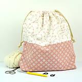 Iné tašky - Tvoritaška ~ projektová taška na vaše tvorenie - 10733552_