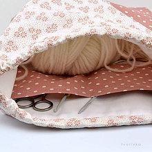 Iné tašky - Tvoritaška ~ projektová taška na vaše tvorenie - 10733066_