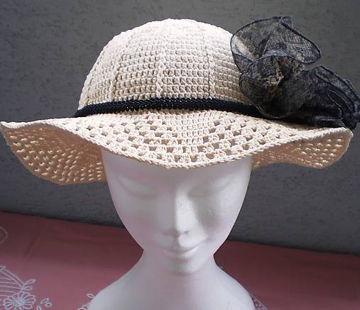 6e7221b30 Letný dámsky klobúk / TrstinkaJustinka - SAShE.sk - Handmade Čiapky