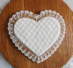 Dekorácie - Perníkové srdce