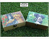 Krabičky - Pre milovníkov psov-krabička